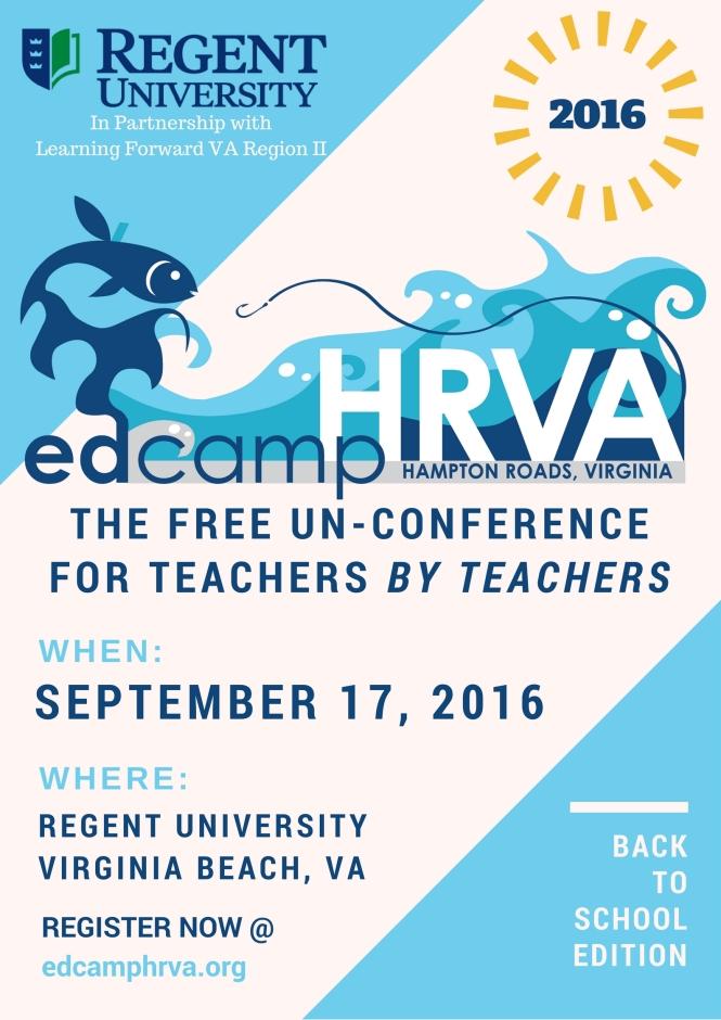 edcampHRVA2016 Flyer